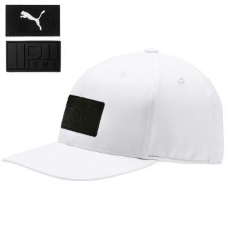Utility Patch 110 Snapback Golf Cap - Bright White