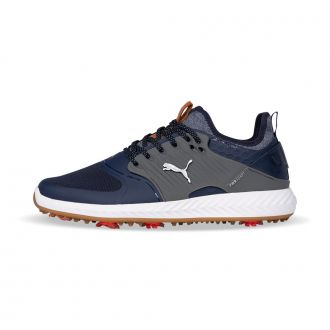 IGNITE PWRADAPT Caged Golf Shoes - Peacoat / Puma Silver / Quiet Shade