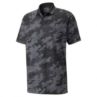 X Camouflage Golf Polo