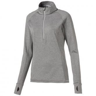 Women's Rotation Golf 1/4 Zip - Medium Gray Heather