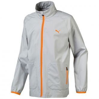 Juniors Wind Golf Jacket - Quarry