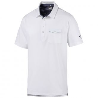 Donegal Golf Polo - Bright White