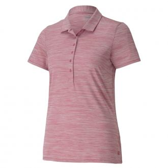 Women's Daily Golf Polo - Rose Wine