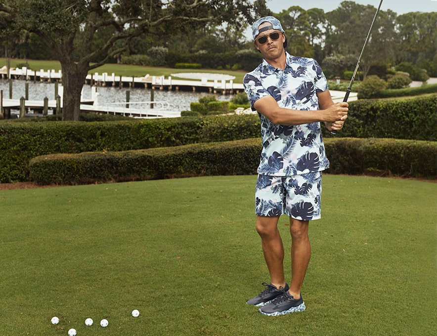 Rickie Fowler in Full SBC Outfit